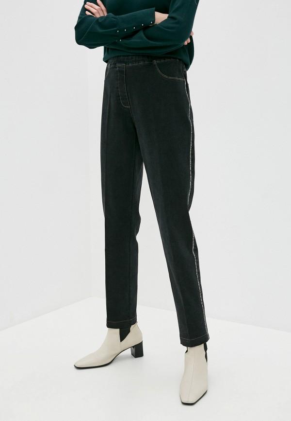 женские прямые джинсы franco vello, черные