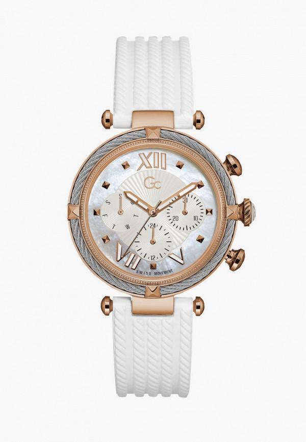 женские часы gc, белые