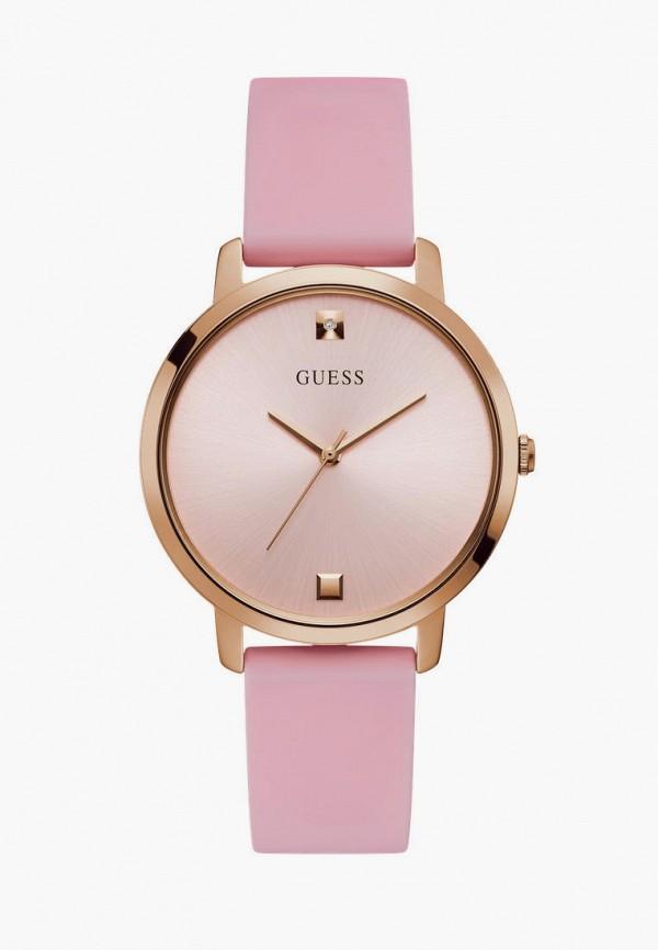 женские часы guess, розовые