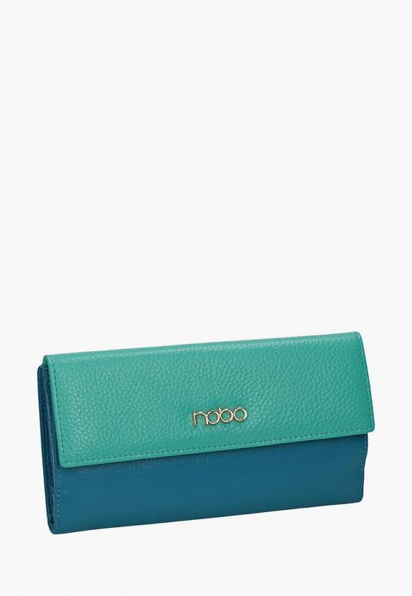 женский кошелёк nobo, голубой