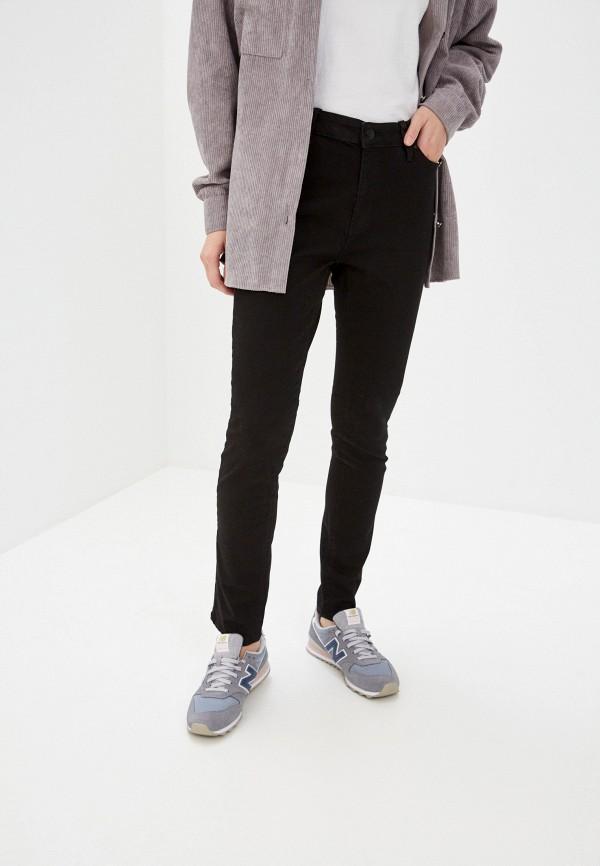 женские прямые джинсы colin's, черные