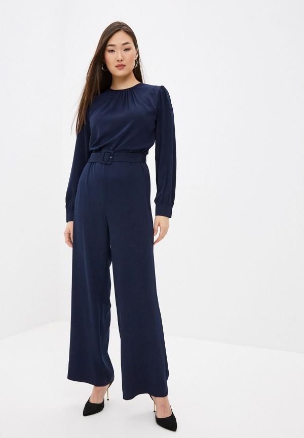 женский комбинезон с брюками incity, синий