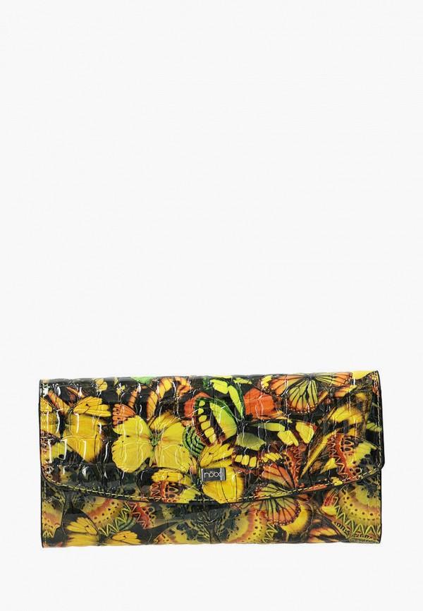 женский кошелёк nobo, желтый