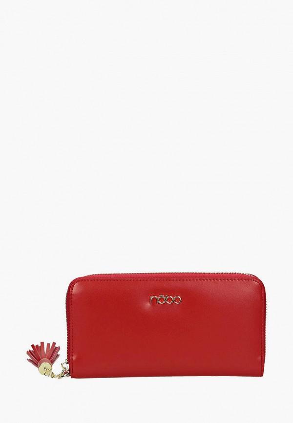 женский кошелёк nobo, красный