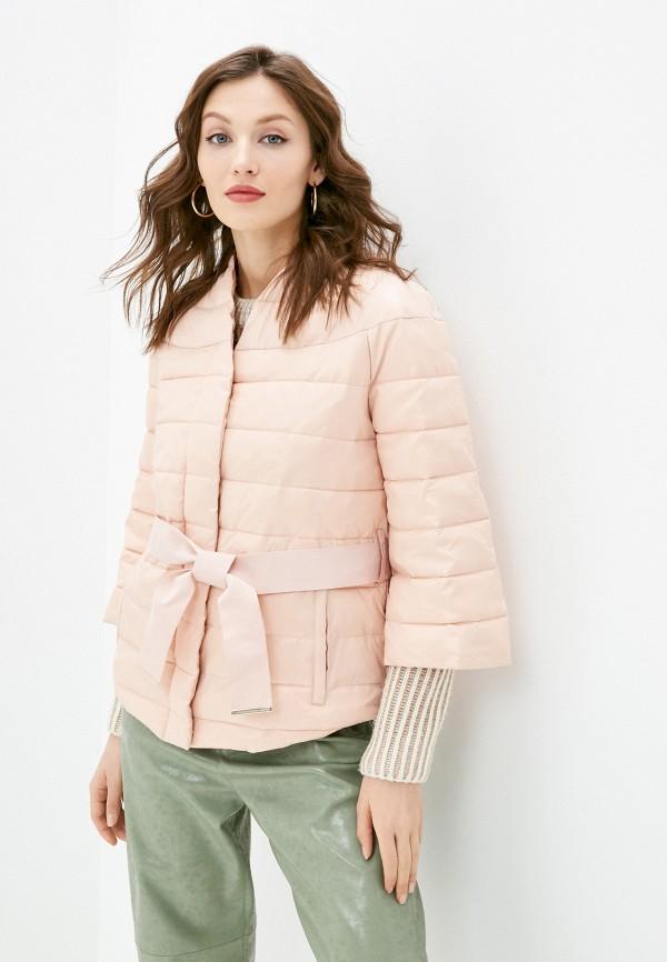 женская утепленные куртка love republic, бежевая