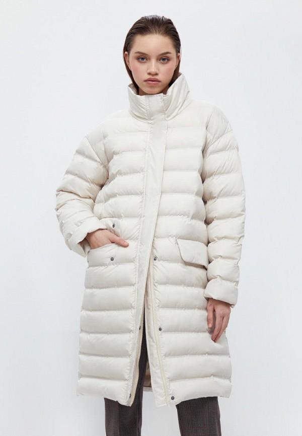 женская утепленные куртка finn flare, бежевая
