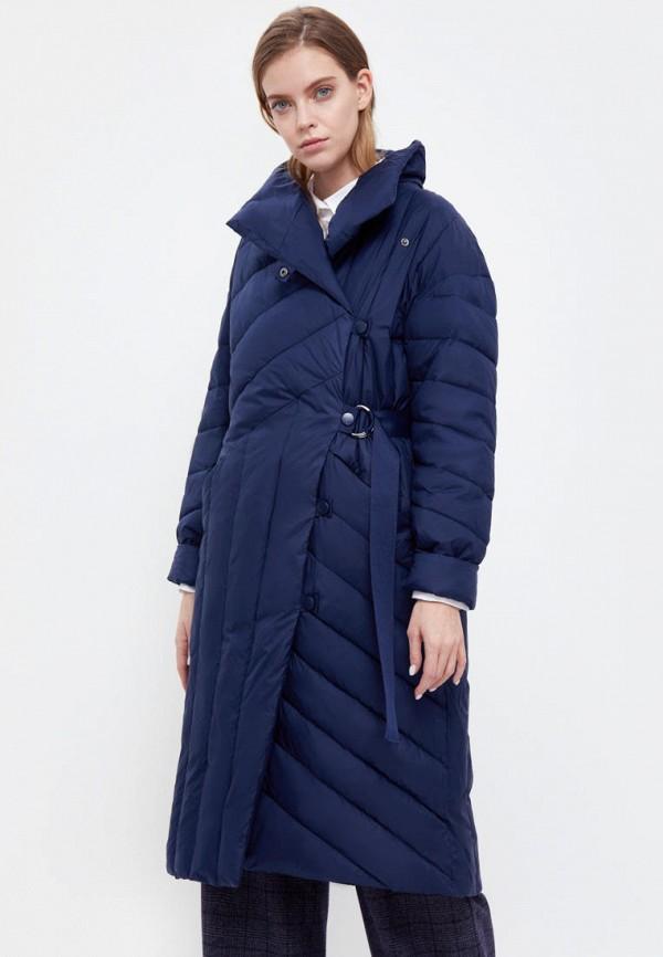 женская утепленные куртка finn flare, синяя