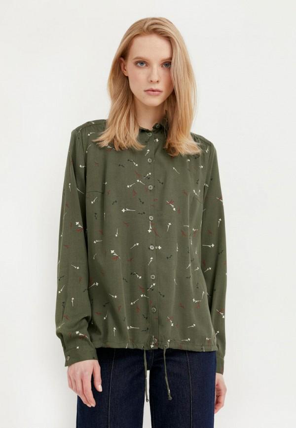 Блуза Finn Flare цвета хаки