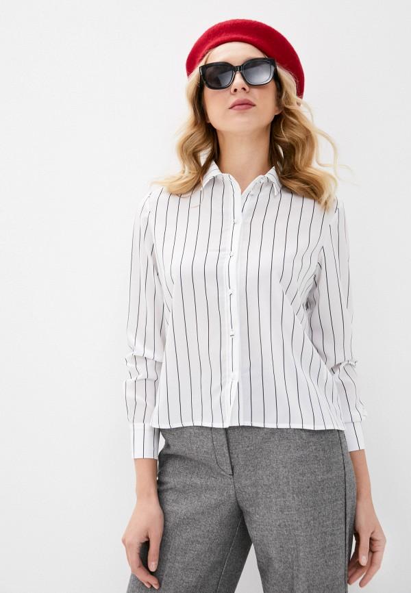 женская блузка с длинным рукавом befree, белая