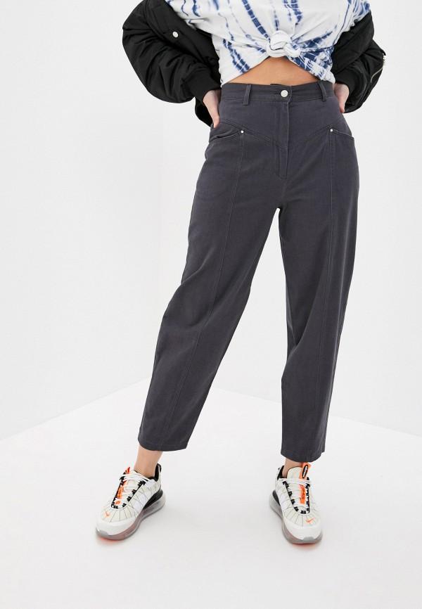женские повседневные брюки befree, серые