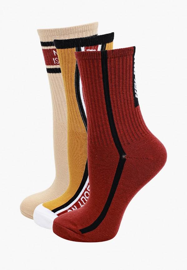 женские носки befree, разноцветные
