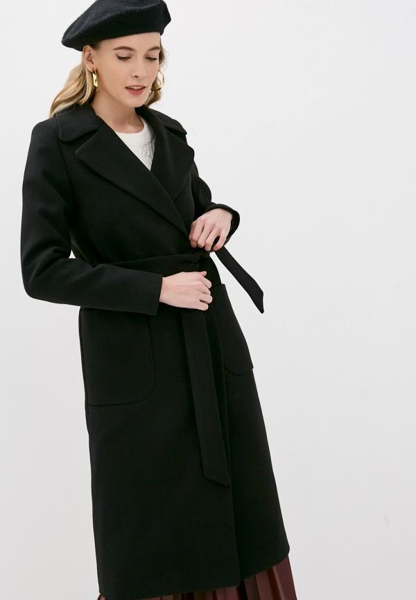 женское пальто elegant life, черное