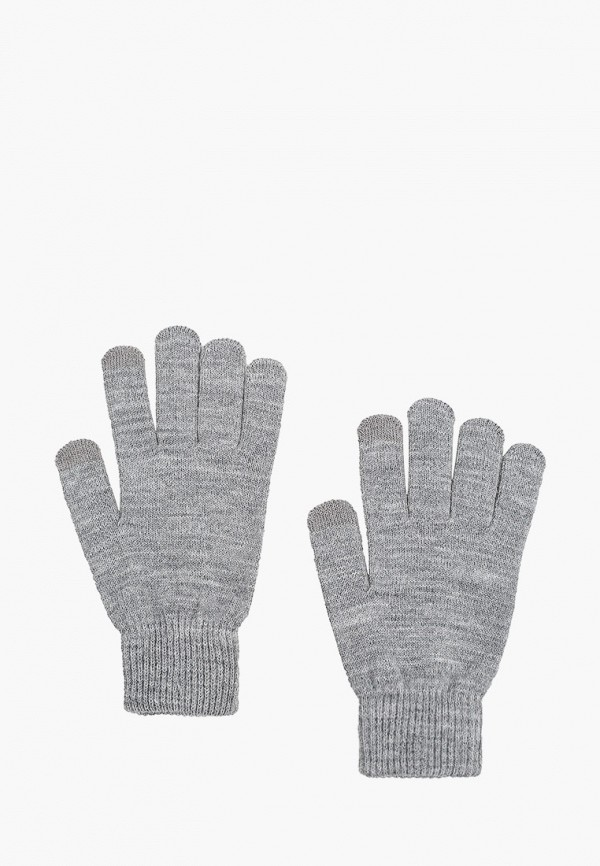 женские текстильные перчатки sela, серые