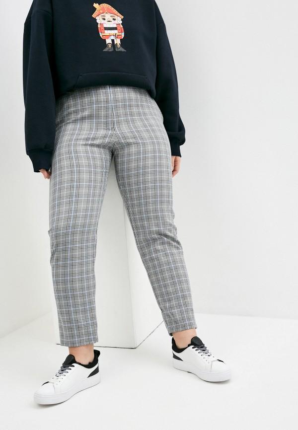 женские классические брюки mark formelle, серые