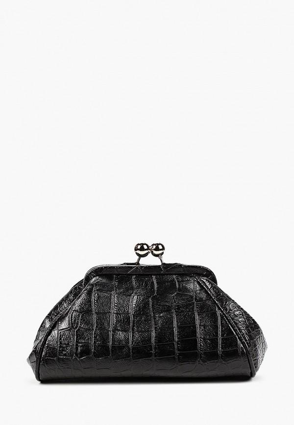 женский клатч vitacci, черный
