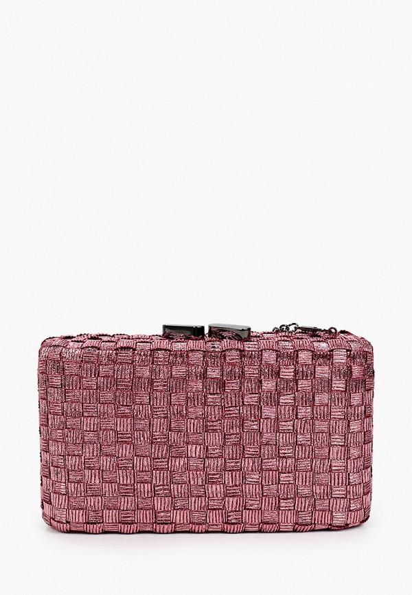 женский клатч vitacci, розовый