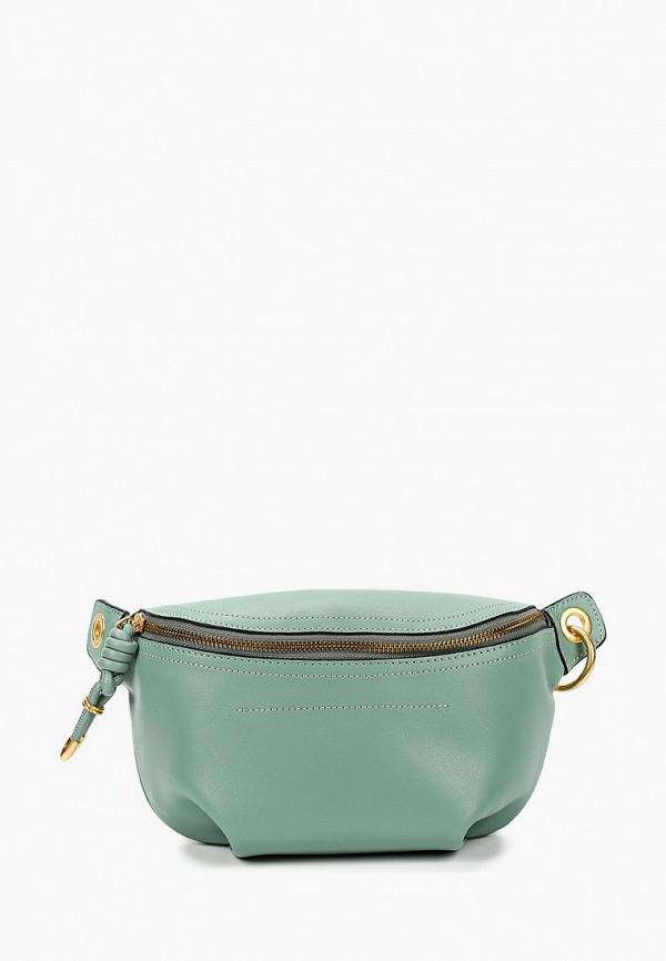 женская поясные сумка vitacci, зеленая