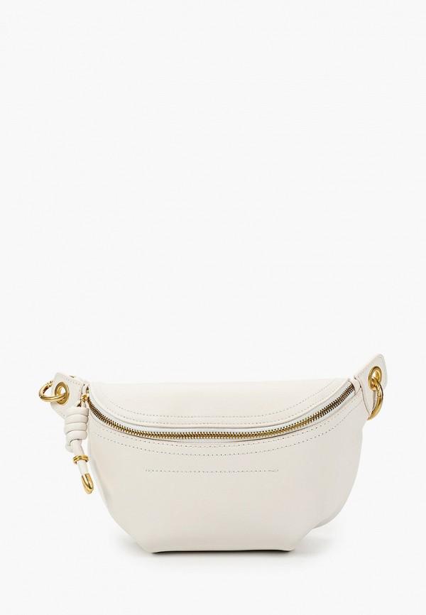 женская поясные сумка vitacci, белая