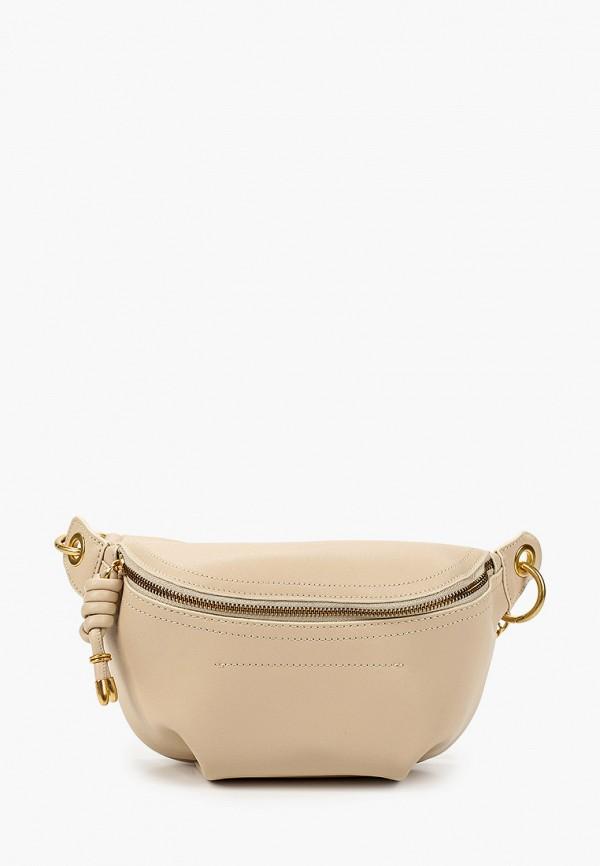 женская поясные сумка vitacci, бежевая