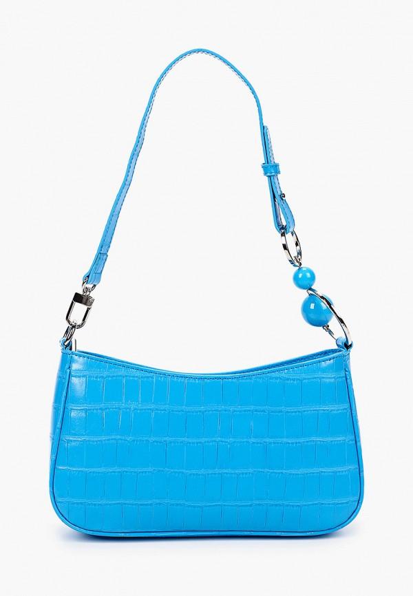 женская сумка через плечо vitacci, бирюзовая