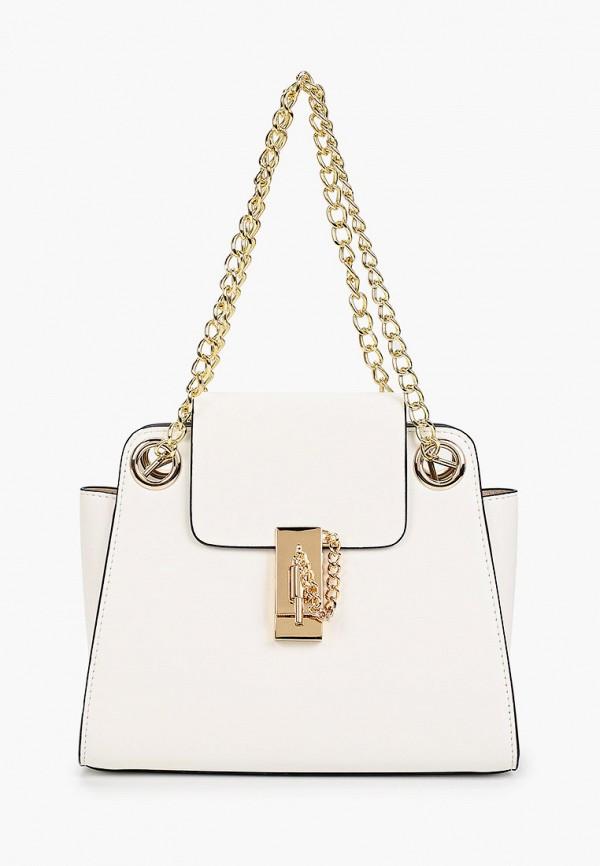 женская сумка через плечо vitacci, белая