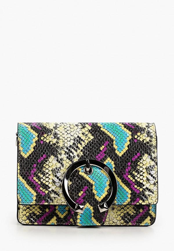 женская сумка через плечо vitacci, разноцветная