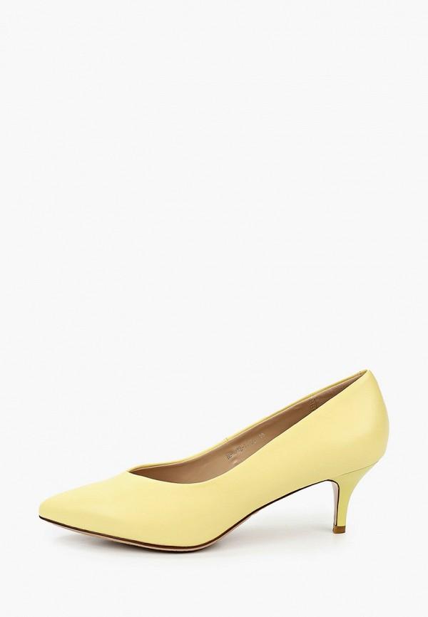 женские туфли-лодочки instreet, желтые