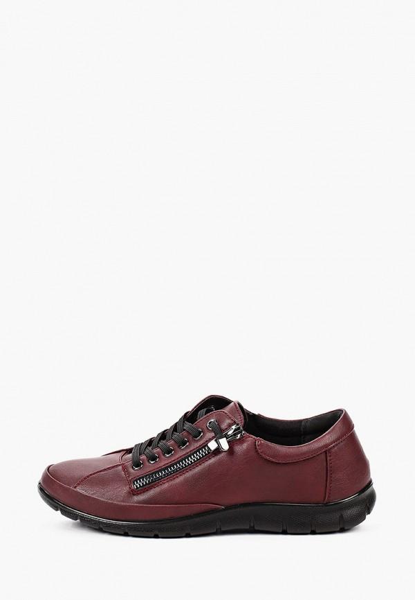 женские низкие ботинки instreet, бордовые