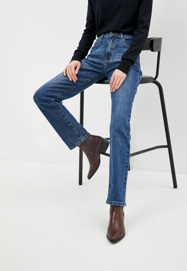 женские прямые джинсы fine joyce, синие