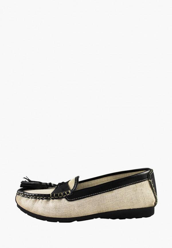женские мокасины canape scarpe, бежевые