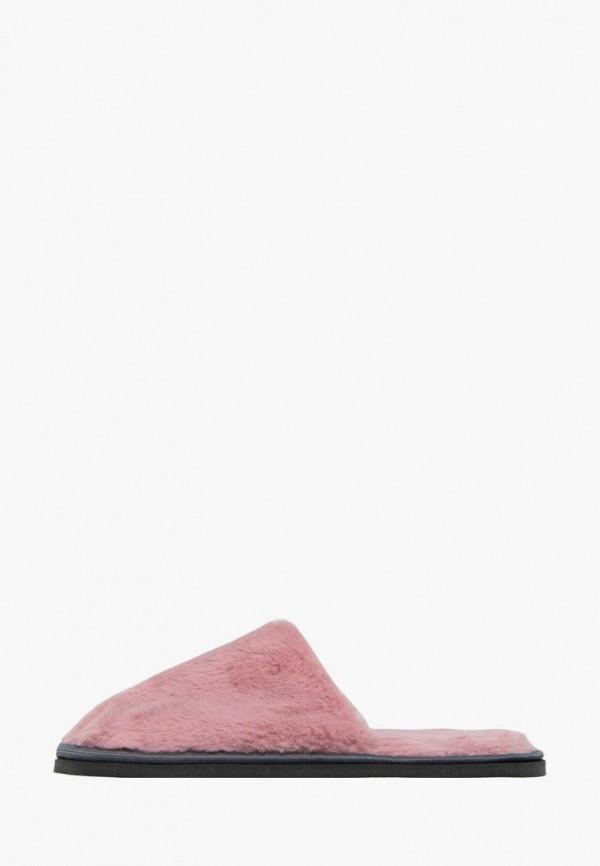 женские тапочки amaro home, розовые