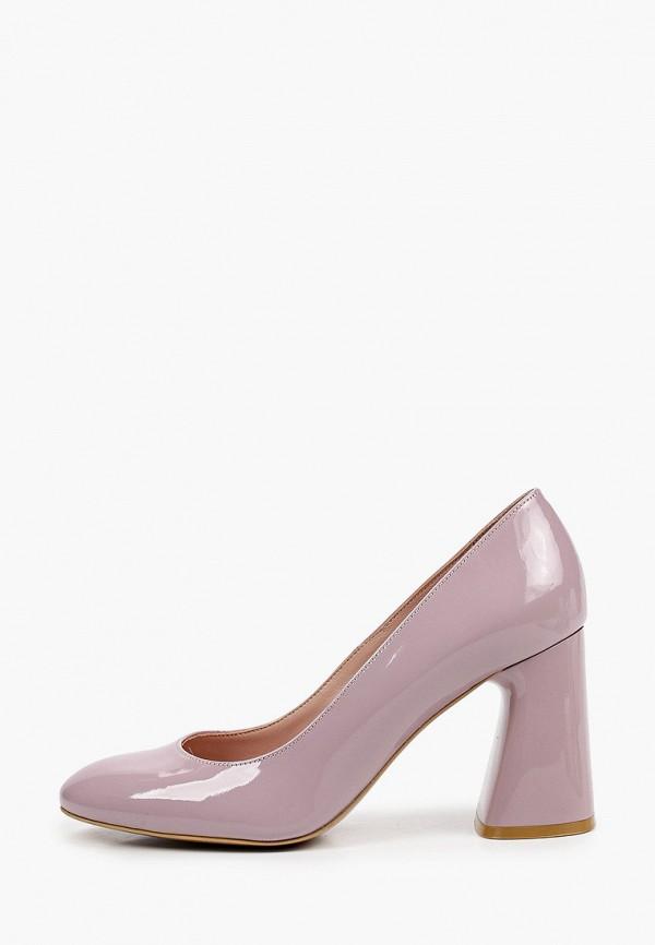 женские туфли с закрытым носом giotto, фиолетовые