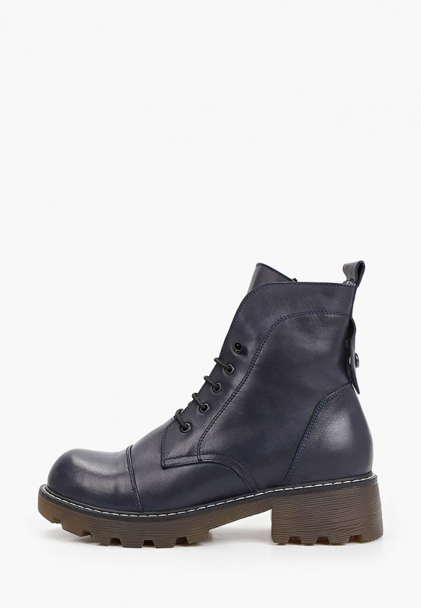 женские высокие ботинки clovis, синие