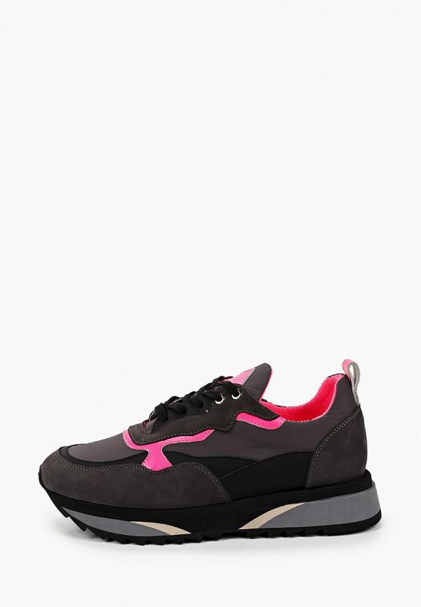женские низкие кроссовки vitacci, серые