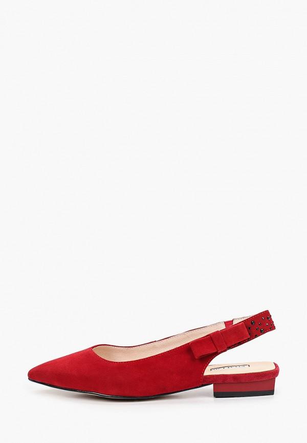 женские туфли vitacci, красные