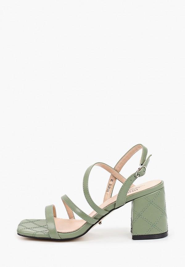 женские босоножки vitacci, зеленые