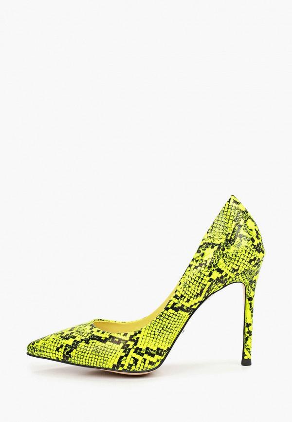 женские туфли-лодочки vitacci, желтые