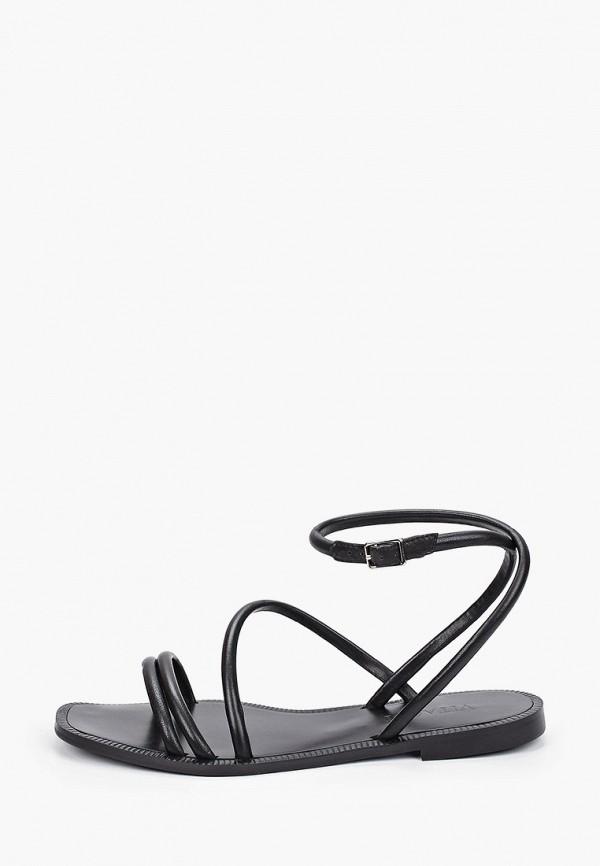 женские сандалии vitacci, черные