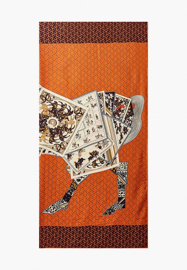 женский платок vitacci, оранжевый