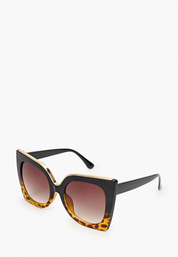 женские солнцезащитные очки кошачьи глаза vitacci, разноцветные