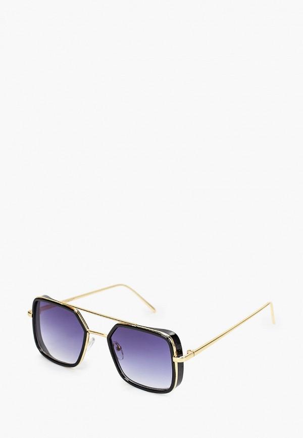 женские квадратные солнцезащитные очки vitacci, золотые