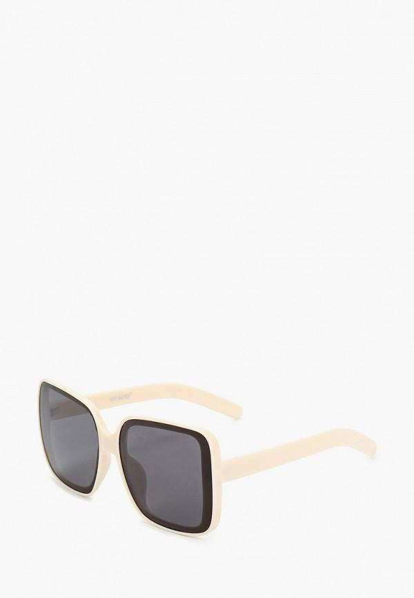 женские квадратные солнцезащитные очки vitacci, белые