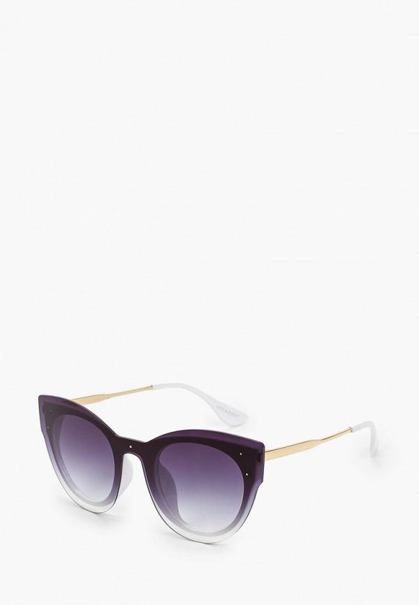 женские солнцезащитные очки кошачьи глаза vitacci, серые