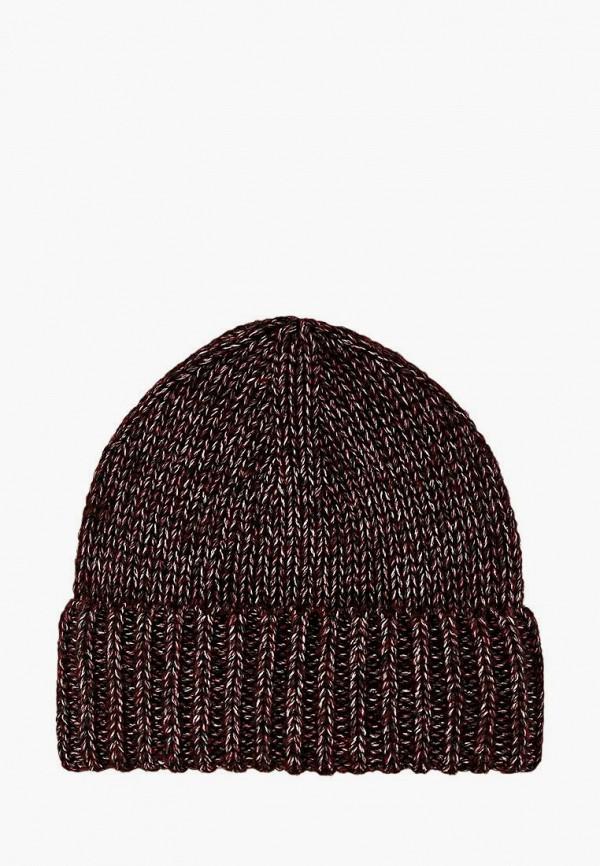 женская шапка sewel, бордовая