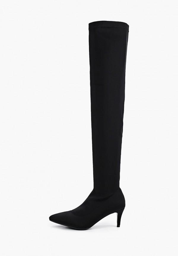 женские ботфорты lera nena, черные