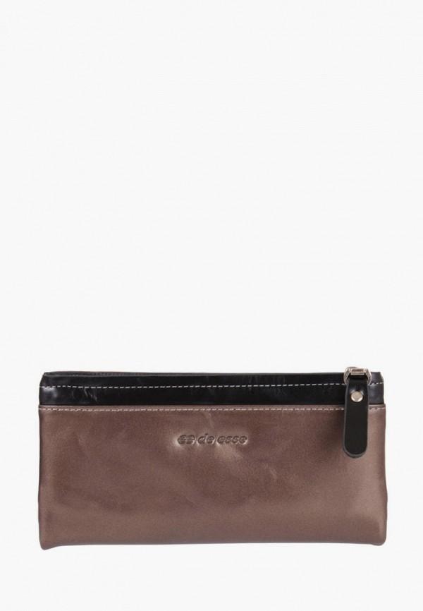женский кошелёк de esse, бежевый