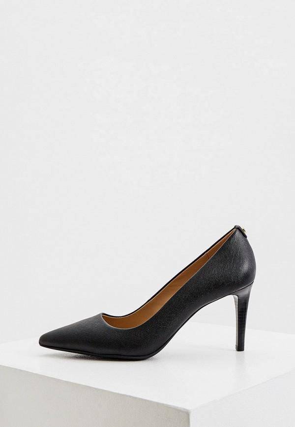 женские туфли-лодочки michael kors, черные