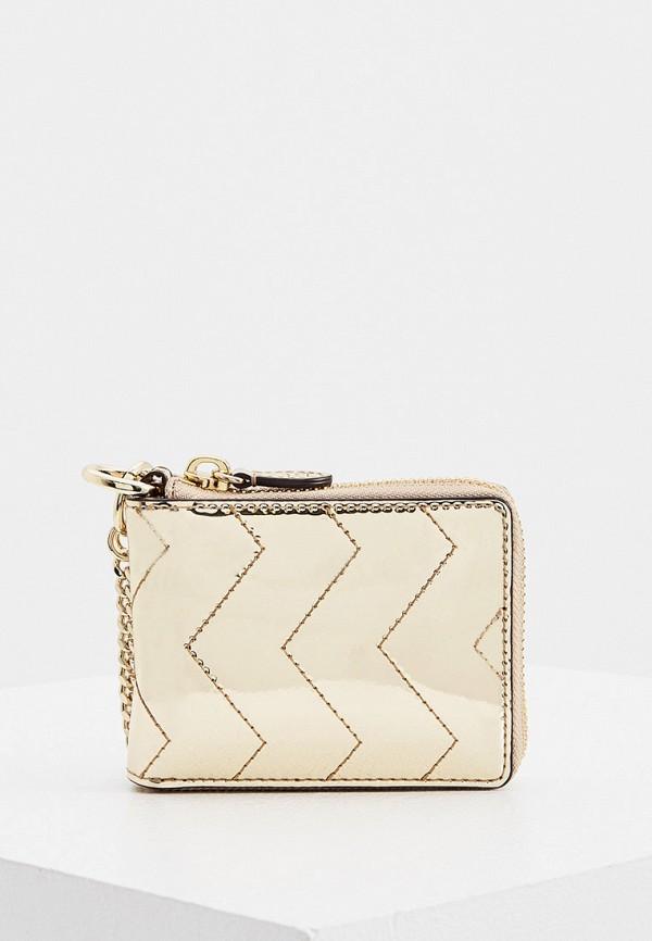 женский кошелёк sandro, золотой