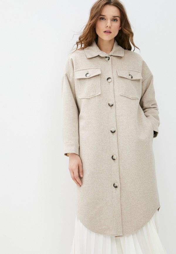 Пальто Grafinia бежевого цвета