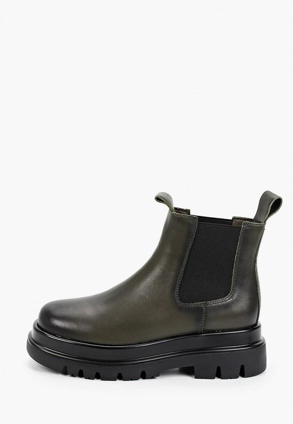женские ботинки-челси sprincway, зеленые